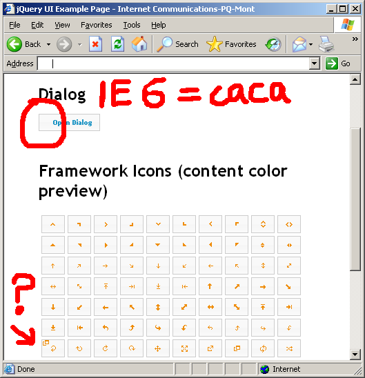 4547 (IE6: CSS for icon does not work properly) – jQuery UI